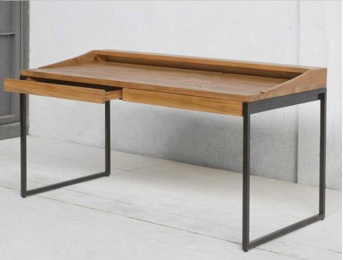 See larger image  Simple modern frame desk ...