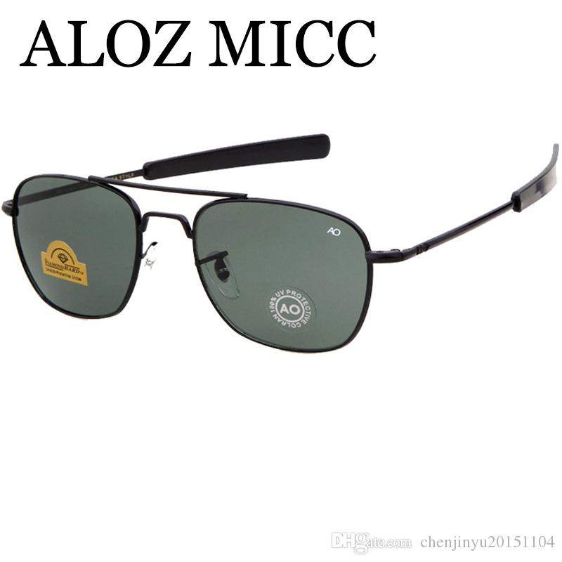 abff11b974 ALOZ MICC Newest Hot Army AO Pilot Sunglasses For Mens Designer ...