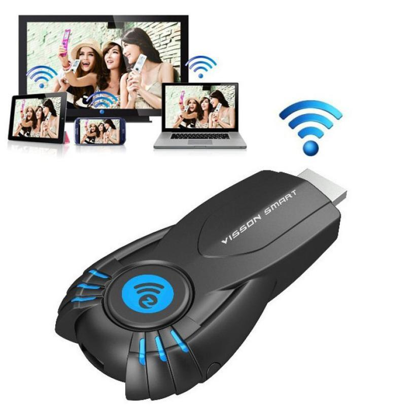 V5ii Ezcast TV Vara Wifi Display Receptor Media Player DLNA + Miracast + wi-fi Dongle Suportando Windows Mac OS iOS Android