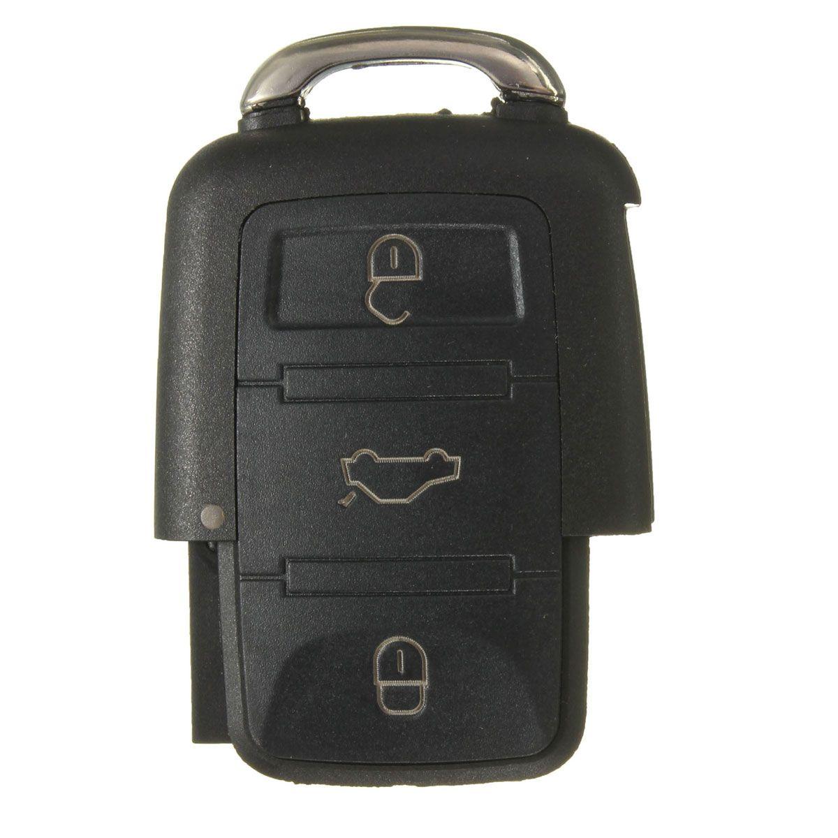 Nuevo KEY SHELL FOB CLICKER SIN CLAVE PARA VW GOLF JETTA BEETLE PASSAT B5 1J0959753DJ Pida $ 18No track