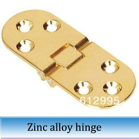 2018 Gold Oval Table Hinge Folding Accessories Flap Hinges 80mm Total  Length From Maybay, $23.12 | Dhgate.Com