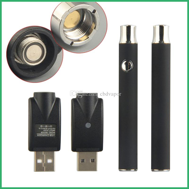 Bud touch manual button preheating battery open vape pen with charger retail package for CO2 oil ceramic cartridge