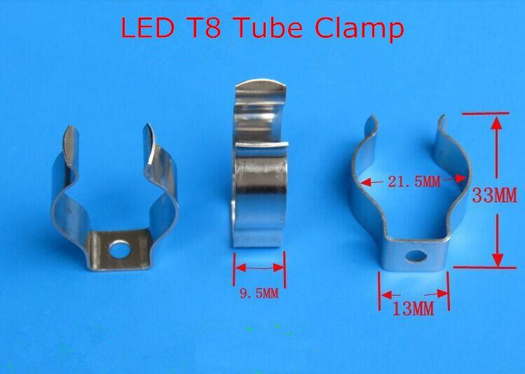 T5 / T8 / T4 램프 클립 클램프 링 클립 클램프 클립 클립 클램프 클램프 클립 클립 버클 클립 형광 클립 형광 클립 DHL 송료 무료