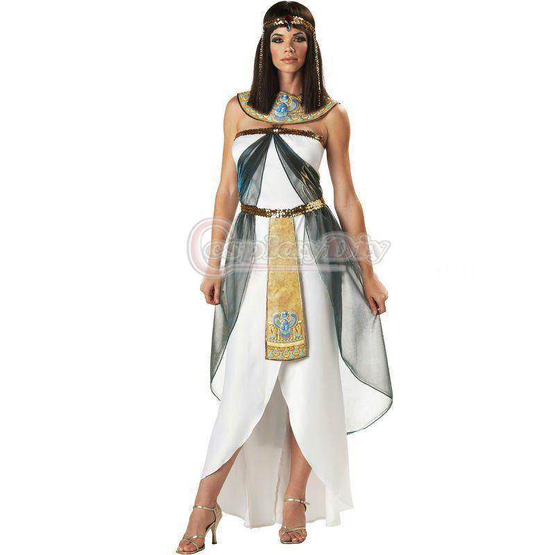 Hot Selling Custom Made Sexy Egyptian Cleopatra Dress Costume Cosplay Costume For Halloween And Christmas Party Halloween Themed Dress Duo Halloween ...  sc 1 st  DHgate.com & Hot Selling Custom Made Sexy Egyptian Cleopatra Dress Costume ...
