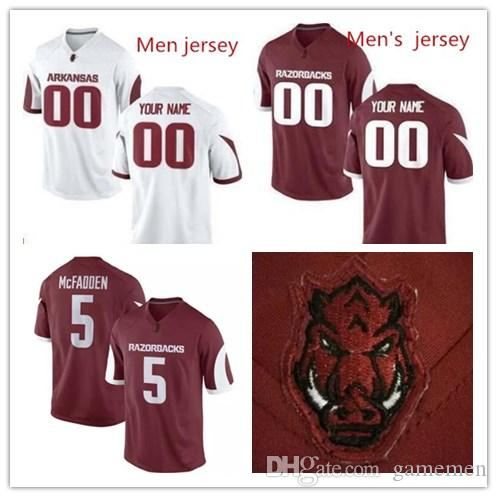 2019 Custom Mens Arkansas Razorbacks College Custom  8 Austin Allen 72  Frank Ragnow White Red Stitched Personalized Jerseys S 3XL From Gamemen 259c78c2c