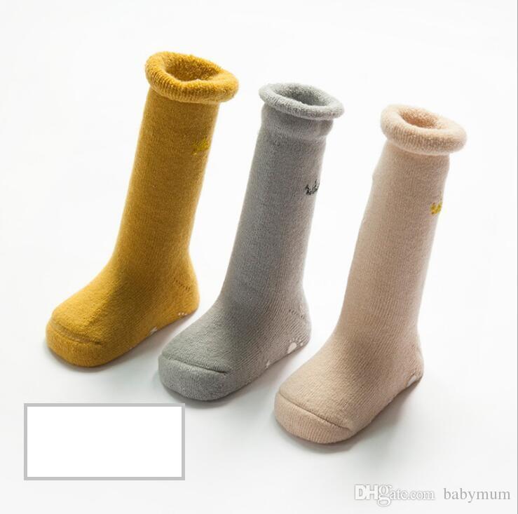 0-36 month baby warm cotton socks fashion kids Boat socks infant winter booties footgear kids Toddler socks Christmas stocking