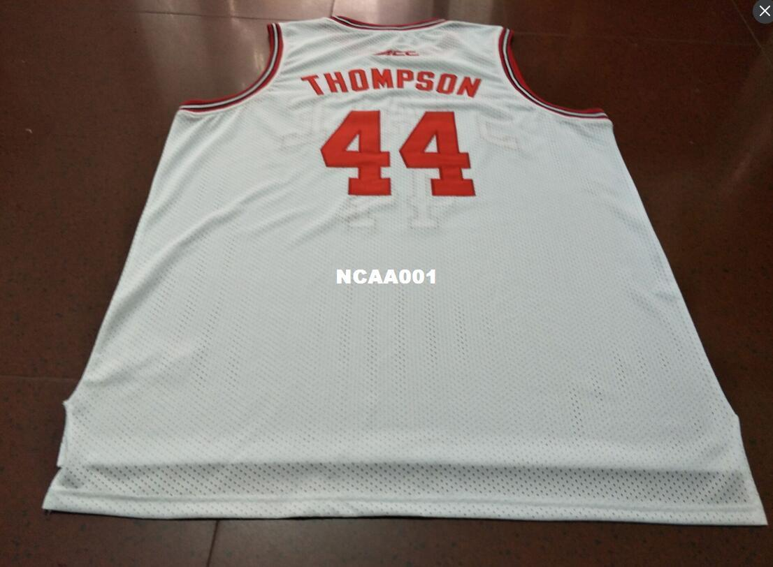 b80ced18 Cheap Men #44 David Thompson RED WHITE NC STATE College Jersey Size S-4XL  OR CUSOM David Thompson Online with $42.61/Piece on Ncaa001's Store |  DHgate.com