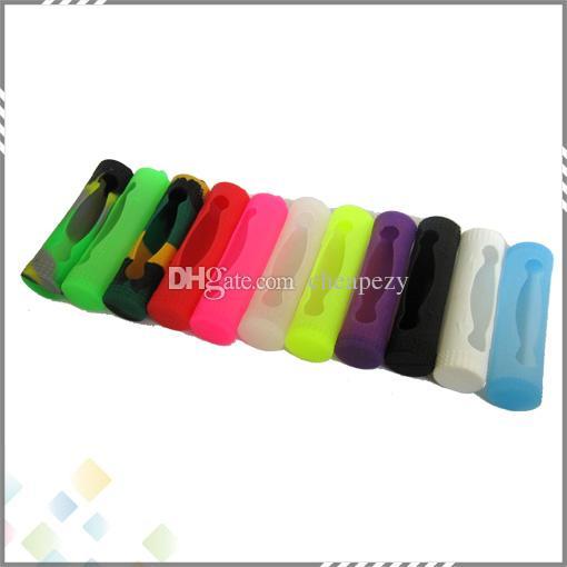 18650 Pil Silikon Kılıf Koruyucu Silikon Kılıfları Çanta Kapak Kutusu Renkli Pil Için Sony Samsung VTC4 VTC5 LG HE4 Panason MOD Pil