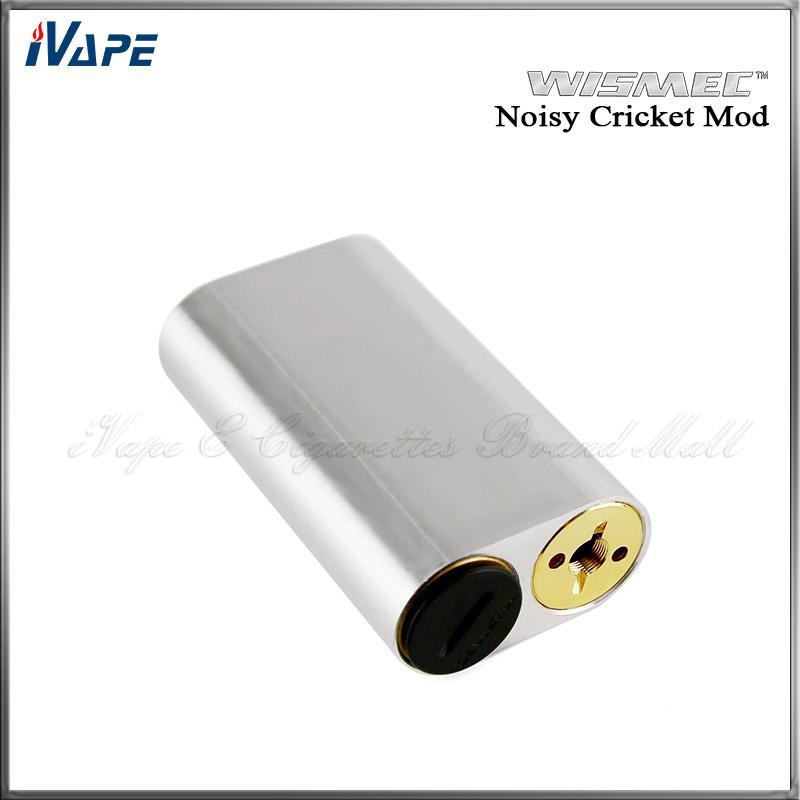 100% Original Wismec Noisy Cricket Mod SMPL Style Button Hybrid Adaptor Bottom 18650 Box Mod Best For Indestructible RDA Atomizer
