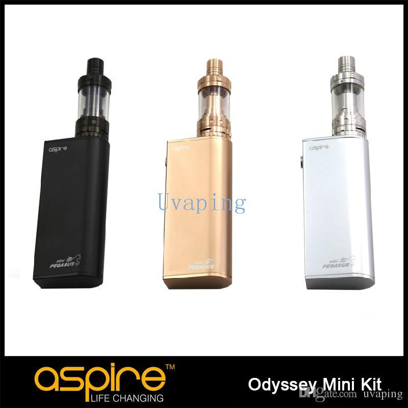 Original Odyssey mini Kit Triton mini Tank 2 ml Pegasus mini Silver Black gold Odyssey mini kit hecho por Aspire envío gratis