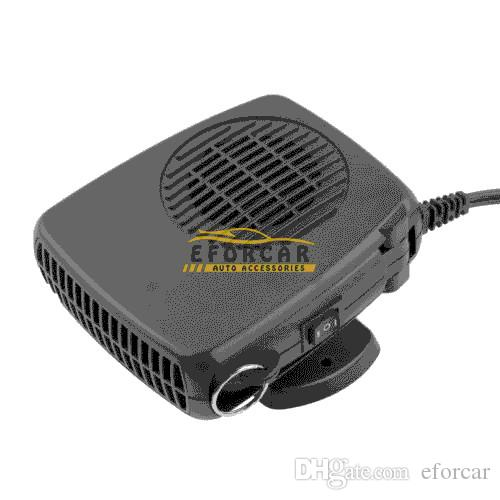 12V 200W 자동 차량 휴대용 드라이어 히터 난방 쿨러 팬 Demister Defroster 2 in 1 Warm / Hot Cold