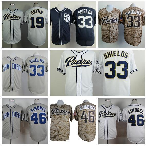 buy popular 8b64c 624b8 ... Camo Alternate 2 Cool Base Stitched MLB Jersey San Diego Padres Mens 19  Tony Gwynn Cool Base Baseball Jersey 4 Wil Myers 33 James ...