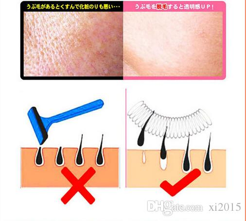 Fashion Face Facial Hair Spring Remover Removal Threading Tool Stick Epilator Epistick Free DHL Shipping