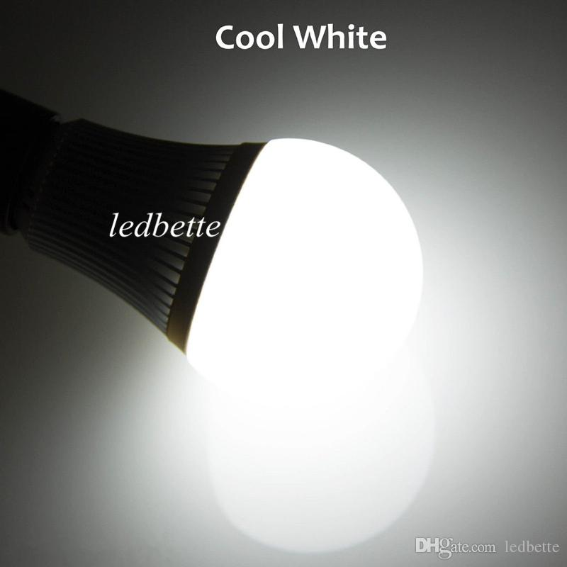 Super Brightness 9W Led bulb light lamp E27 E26 E14 Dimmable Warm/Nature/Cool White led Energy Saving Spotlight 110-240V