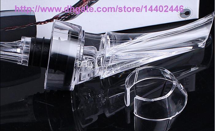 새로운 와인 Aerating Aerator Pourer Aerating 와인 Dropper 레드 와인 에센셜 바 병 여행 빠른 공기 화이트 선물 상자