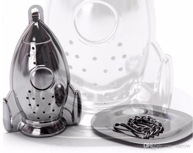 Submarine Missile Rocket Tea Infuser Stainless Steel Tea Strainer Cute Rocket Coffee Herb Scented Tea Filter By Meow