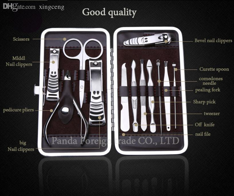 Wholesale High Quality Manicure Suit Exquisite Nail Tools Nail ...