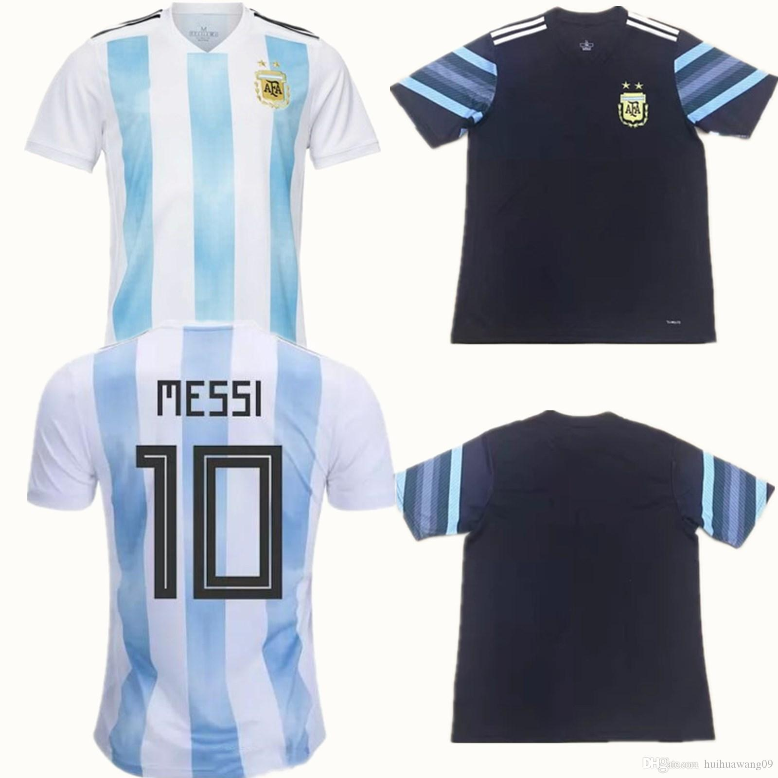 2018 2018 world cup argentina soccer jerseys messi di