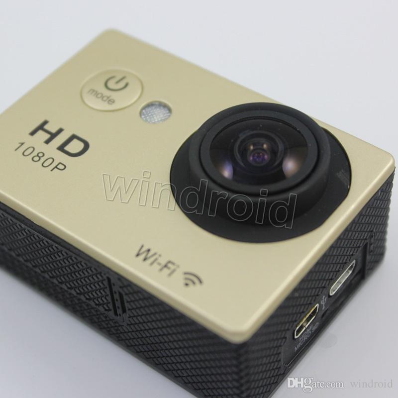 "W9 Sports Camera HD Action 2"" WIFI Diving 30 Meter Waterproof Cameras 1080P Full HD 170° Camera Cameras Sport DV Car 100 cheap"