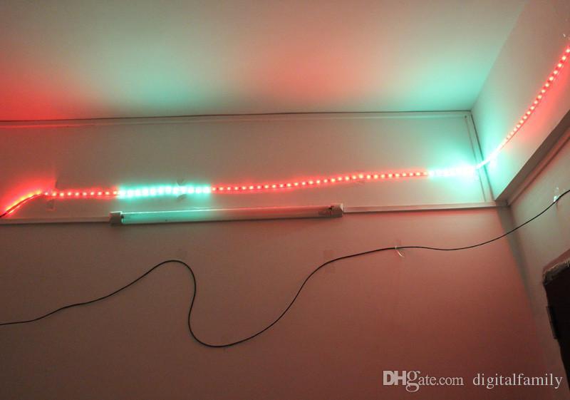 Magic LED Strip Dream Color 6803 IC 5050 RGB SMD Luz inteligente 150 LED 5M impermeable es Programa con controlador