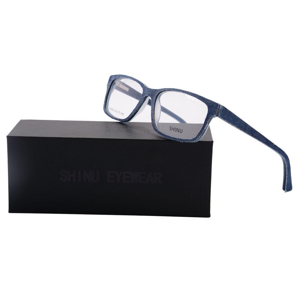 Compre Shinu Jeans Gafas De Moda De Las Señoras De Gafas De Marco De ...