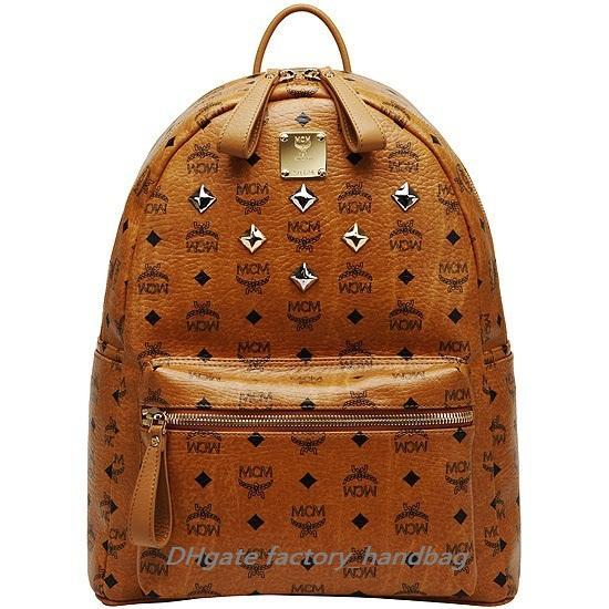 MCM Brown Backpack Biggest Size