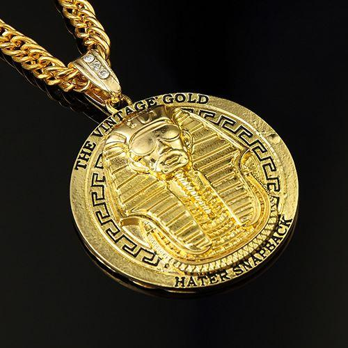 Vintage gold silver plated rhinestone old king of egypt round god pendant necklace hip hop rap punk men long chain jewelry wholesale vintage gold silver plated rhinestone old king of egypt round god pendant necklace hip hop rap punk men long chain jewelry Image collections