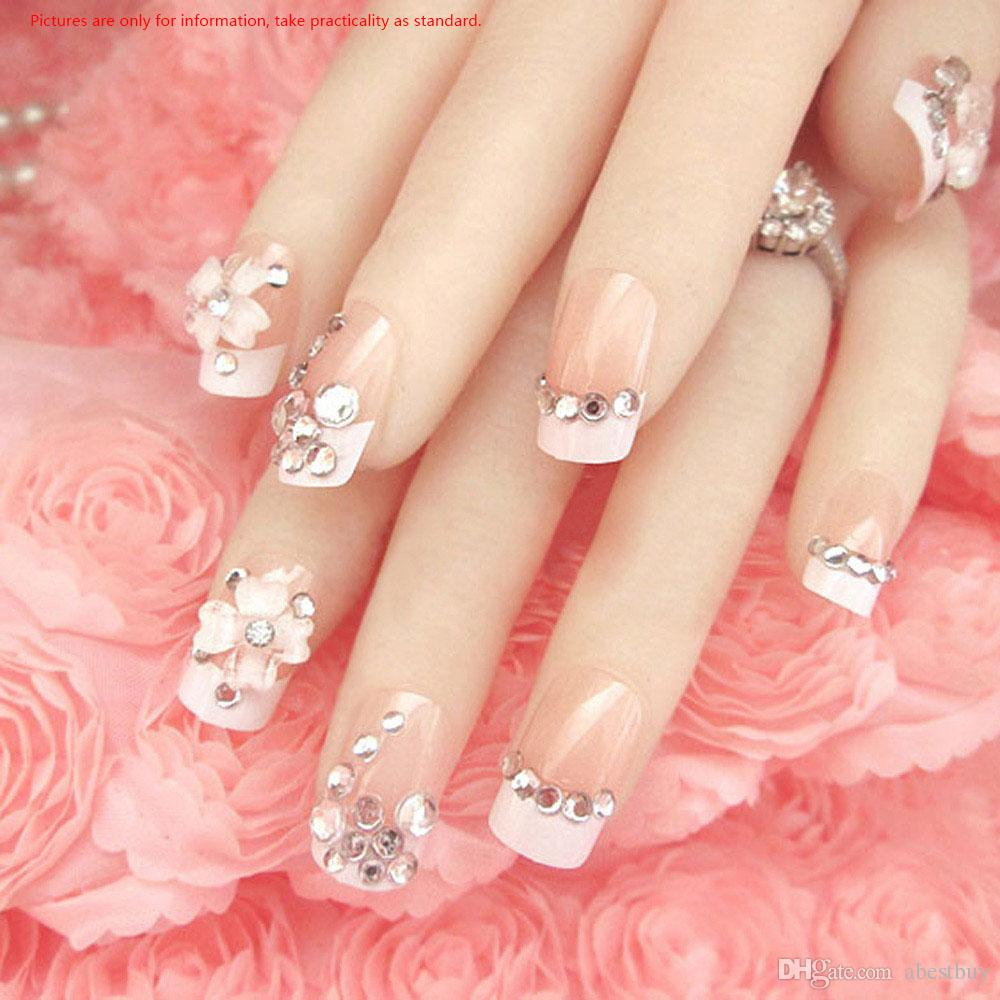 2016 New Arrival 2 Sizes 3d Round Shape Glitter Rhinestone For Nail ...