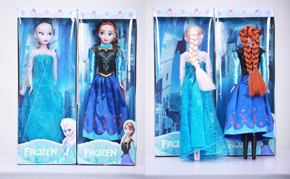 Christmas Gift Musical Frozen Doll Diy Doll Music Frozen Toys Sing ...