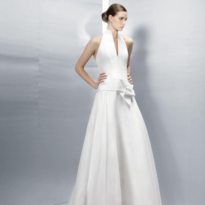 Discount Simple A Line Wedding Dresses Jesus Peiro 3016