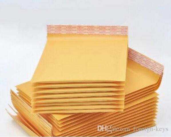 Kraft Bubble Envelopes Padded Mailers Shipping Self-Seal Bags SIZE 205x279x40 NEW Bubble Cushioning Bag