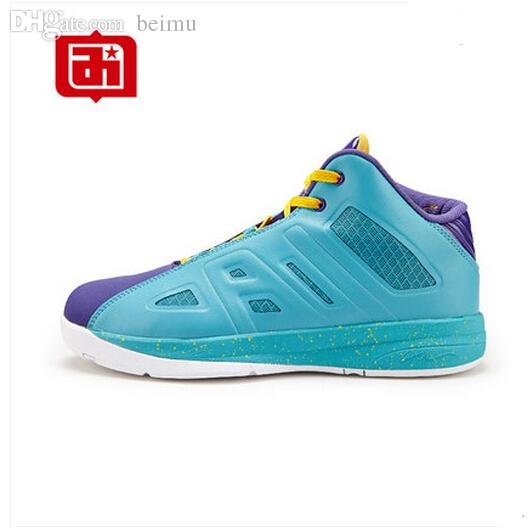 9dd79fbcca04 Wholesale Hot Sale Allen Iverson Shoes Men Basketball Shoes For Men Summer  Breathable Fashion Sport Sneakers Shoes Green Blue Orange Red Basketball  Gear ...