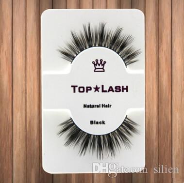 10 Çift Kadınlar Siyah Lüks Gerçek Vizon Doğal Kalın Göz Lashes Yumuşak Uzun El Yapımı Yanlış Eyelashes Makyaj Uzatma Güzellik Araçları