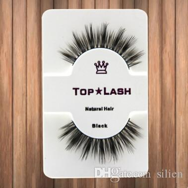 Women Black Luxurious Real Mink Natural Thick Eye Lashes Soft Long Handmade False Eyelashes Makeup Extension Beauty Tools