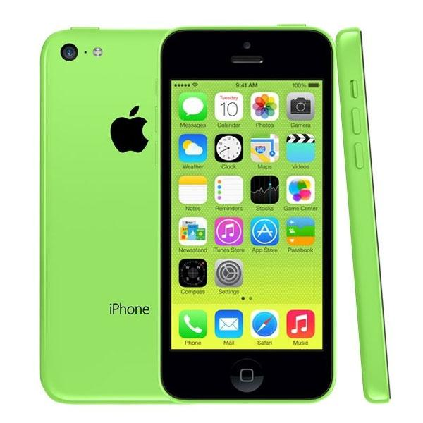 Apple iPhone 5C iOS 8.0 4G FDD-LTE 4.0 pouces 1136 * 640 Retina Screen Dual Core A6 CPU 8.0MP Camera Single Nano-Sim Card Refurbished Smartphone