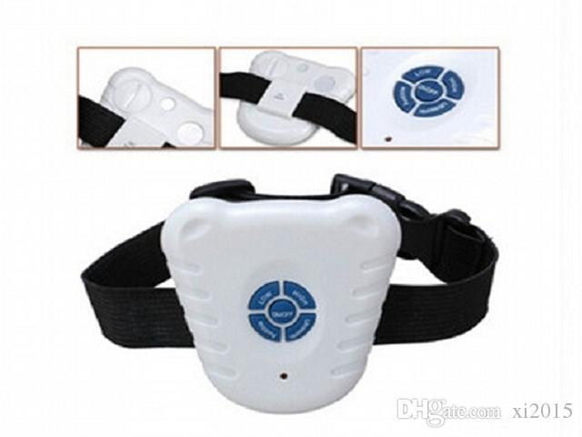 شحن مجاني 300 قطعة / الحزمة opp حقيبة قابل للتعديل تمتد / بالموجات فوق الصوتية مكافحة النباح وقف التحكم نبح الكلب طوق