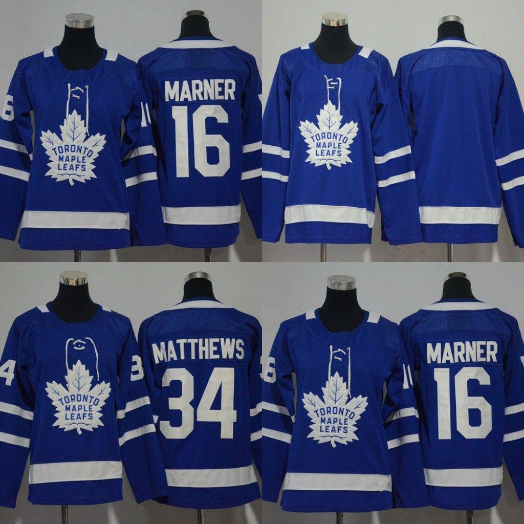 2019 Youth Women 2018 Season Toronto Maple Leafs Hockey Jerseys  16  Mitchell Marner  34 Auston Matthews All Stitched Kids Hockey Jersey From  Felixtrading b969169d6