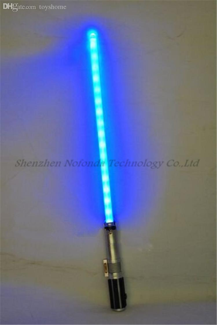Wholesale laser sword laser sabre light saber star wars ultimate wholesale laser sword laser sabre light saber star wars ultimate fx lightsaber blue color light saber with sound light sewing light hand light point aloadofball