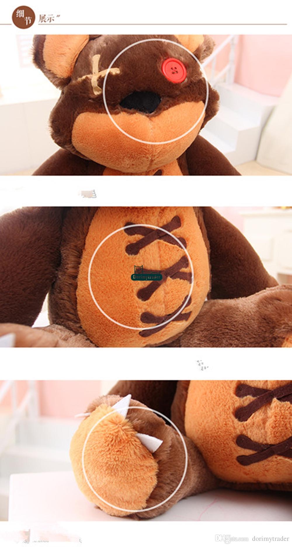 Dorimytrader Hot New 24'' / 60cm Big Stuffed Soft Plush Cute Giant Bear Toy, Nice Gift for Babies, DY60679