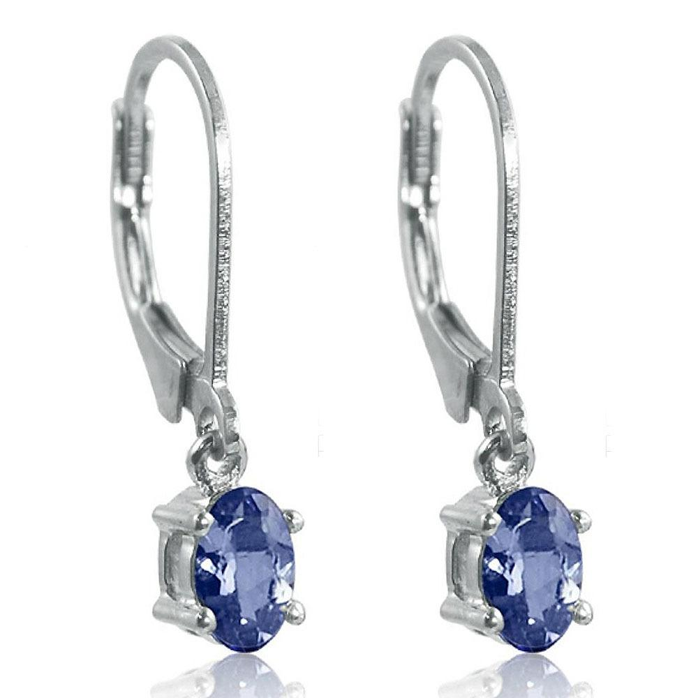 genuine products stud silver sterling tgw round in earrings tanzanite set real