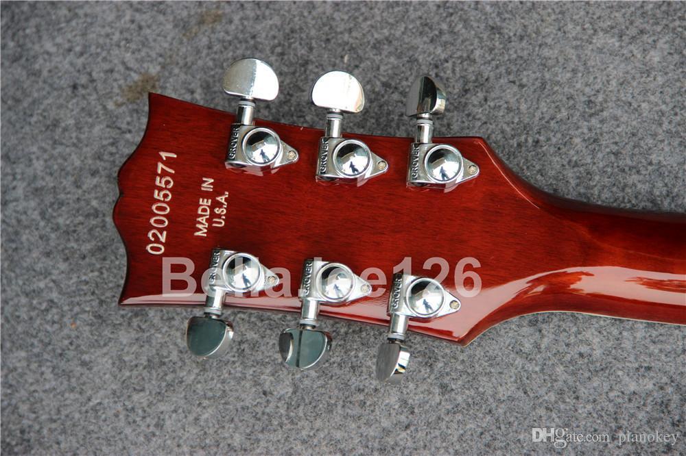뜨거운 클래식 jumbo hollow body 재즈 335 일렉트릭 기타 판매, 공장 OEM 수제 기타, 무료 배송
