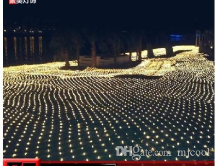 패션 요정 크리스마스 그물 세공 샹들리에 LED 그물 그물 등 300 만 * 200 만 200LED 램프