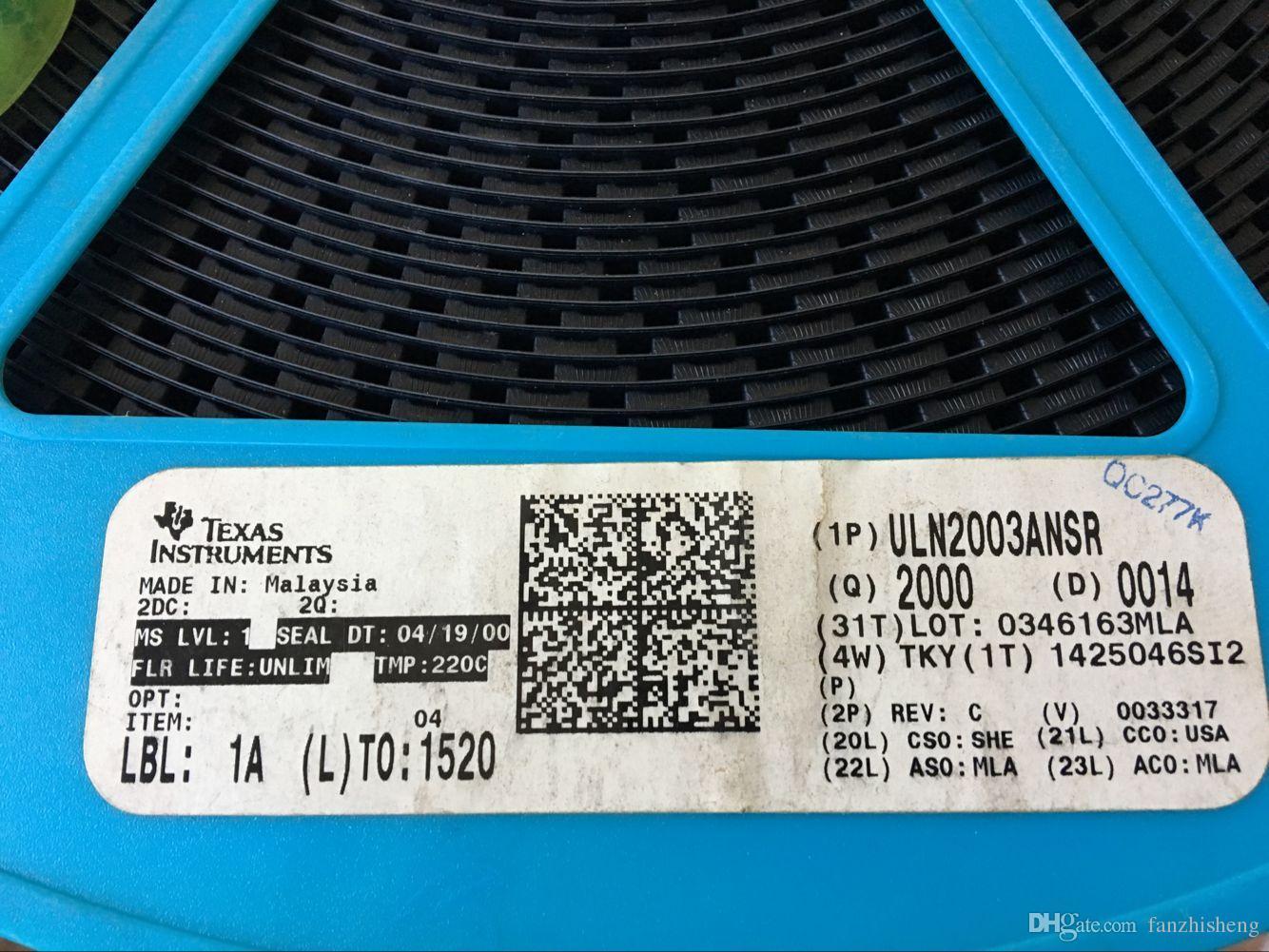 neues und ursprüngliches SOP16 ULN2003A ULN2003ANSR Volumen 5.22mm Der Ursprung eines Produktes ist Malaysia