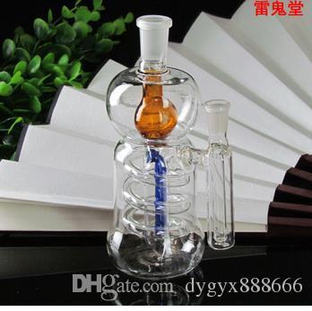 Высокопроизводительный суперфильтрационный стеклянный горшок высотой 16 см шириной 5.8 см. Вес 135 грамм, цветная случайная доставка, оптовый стеклянный кальян, лар