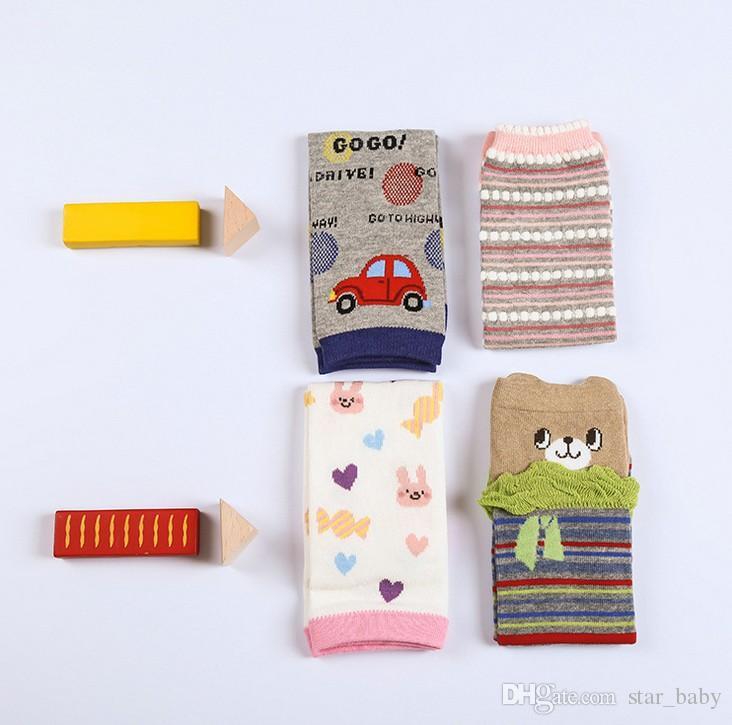 Весна длинные теплы ноги крючком вязание крючком мультфильм манжеры Toppers для детей зима теплые ботинки носки K6327