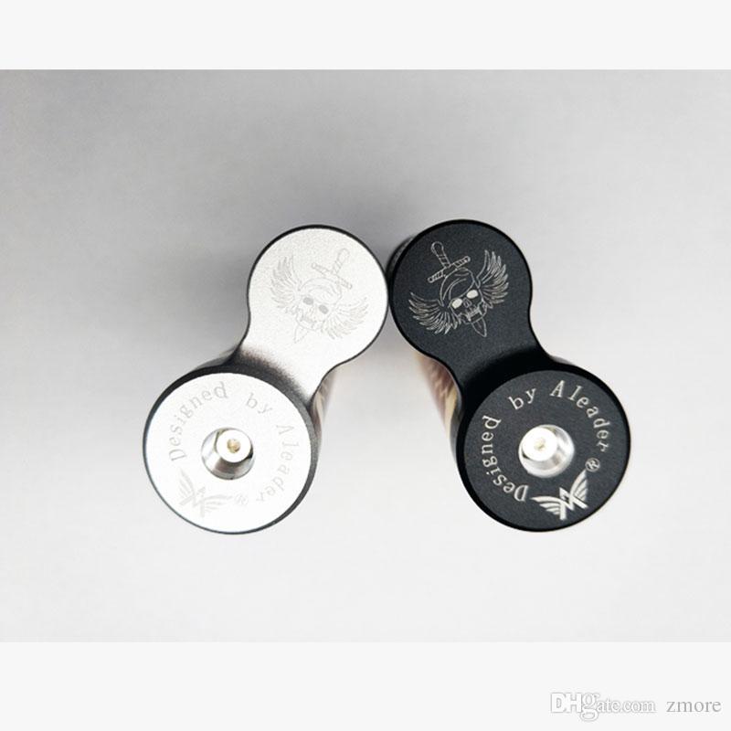 100% Aleader Beret Mech Mod Kit de lubrificação de fundo semiautomático de haste mecânica com garrafa de silicone de grau alimentício de 7ml