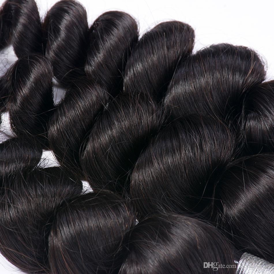 Brazilian Loose Wave Virgin Hair Extensions Wholesale Brazilian Virgin Hair Loose Wave 3 Bundles Unprocessed Human Hair Weave Bundles