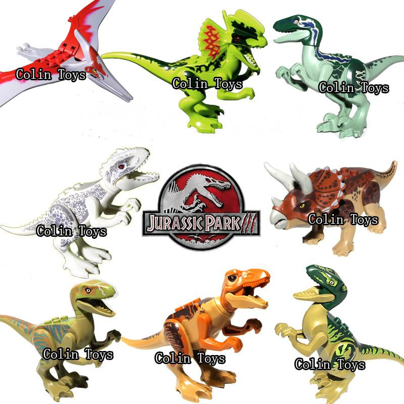 Toys Lego Dinosaur : New jurassic world dinosaur building blocks sets