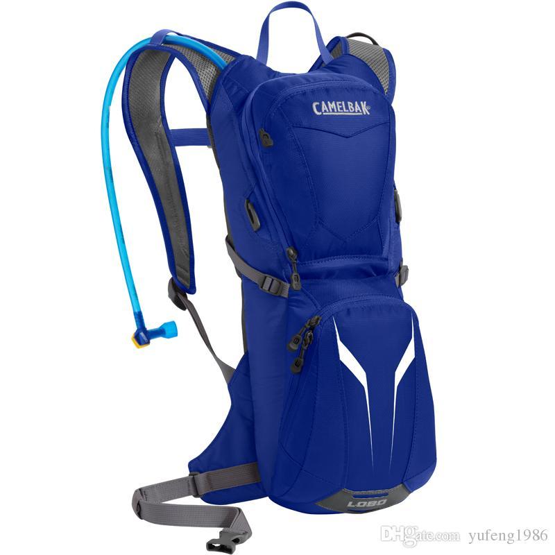 cb lumière extérieure sac de vélo de montagne sac à dos conception rationalisée sac d'eau de 3,28 L + 3 l