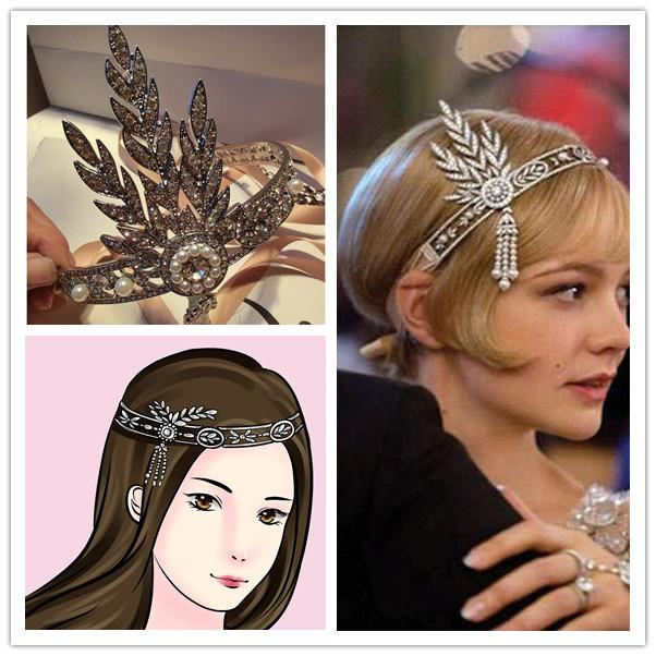 great gatsby style hair accessories the great gatsby tiaras amp hair accessories prom 7346